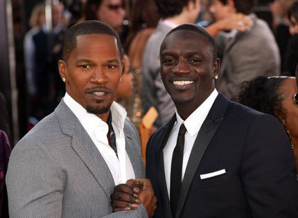 Akon is with ?