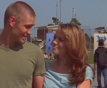What does Haley call Lucas in this scene?