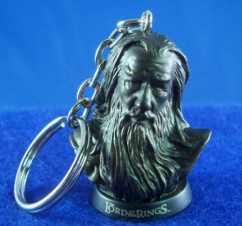 Which LOTR character is on this keychain?