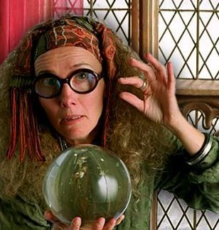 Harry Potter and the Prisioner of Azkaban (Movie): For professor Trelawney, who were in the beyond?