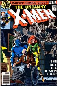 the day the x men died comic did the x men really died