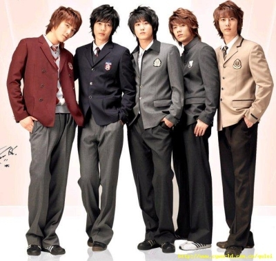 Which of the three in SS501 have the same blood type: Blood Type O?