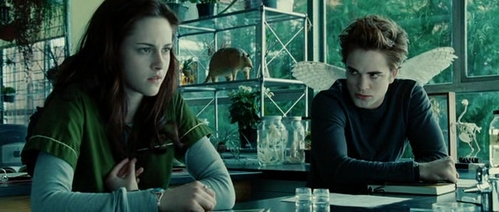 What does Edward call himself when he decides to be with Bella