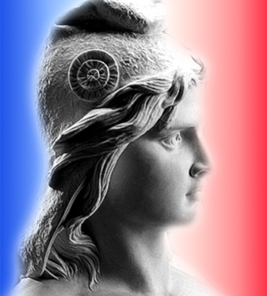 Who is the symbol of French Republic ?