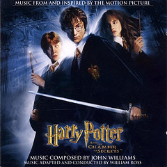 How many collectible covers were made for the movie soundtrack of Harry Potter and the Chamber of Secrets? (CD covers)