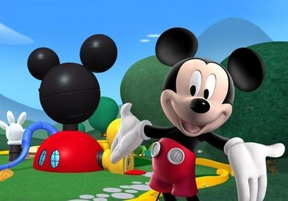 First Mickey cartoon in color ?