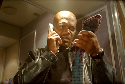 In Snakes on a Plane: What was the name of the character played da Samuel L. Jackson?