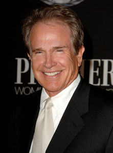 What is Warren Beatty's cat's name?