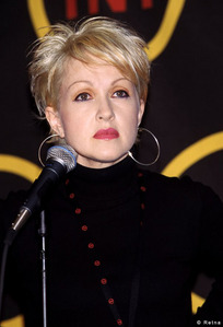 What's Cyndi Lauper's cat's name?
