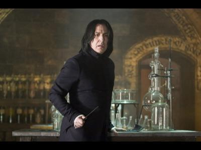 Harry Potter and the Goblet of Fire (Movie): Severus Snape's first line?