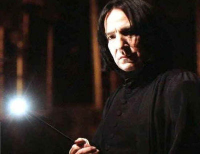 Harry Potter and the Goblet of 火災, 火 (Movie): Severus Snape's last line?
