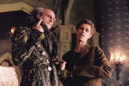 Who is this pictured with Count Olaf?