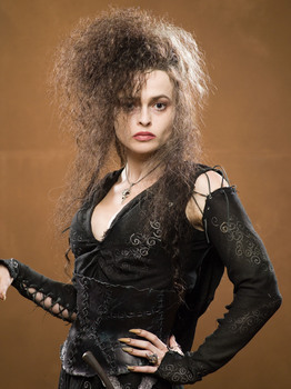 Helena Bonham-Carter has accidentally injured one of the actors while filming OOTP. Who was it?