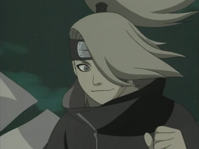 why did deidara oringinally leave his village?