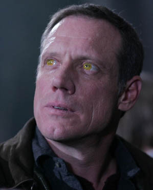 In how many episodes Fredric Lehne was The Yellow-Eyed Demon? (Before Season 6)