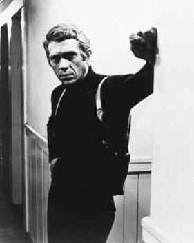 """Complete the following STEVE MCQUEEN movie quote: """"For what it's worth architect, this is one building I figured wouldn't"""