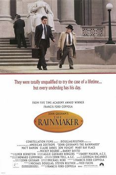 In 'The Rainmaker' (1997) who is the Vice-President of Claims for Great Benefit?