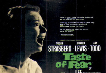 In 'Taste Of Fear' (1961) how many years has it been since Penny last saw a specialist?