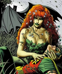 Poison Ivy was not a villian in the 60's tv series; because her charater was not created yet