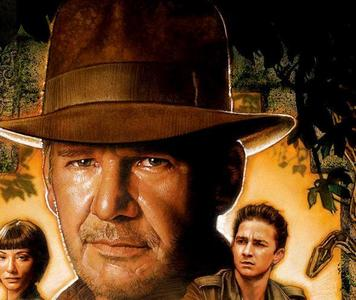 How old was Harrison Ford during the shooting of Indiana Jones and the Kingdom of the Crystal Skull?