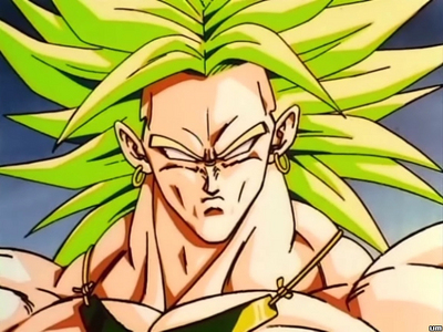 Why was Broly sent away from planet Vegeta when he was just a baby?