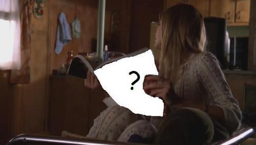 Who is on the magazine that Marissa is reading? (Hint: The magazine is Instyle and the episode is 3.13)