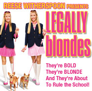 In Legally Blondes the play...
