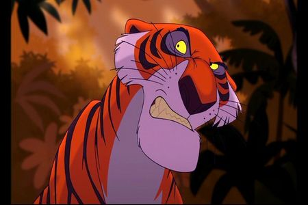 Who does the voice of Shere Khan?