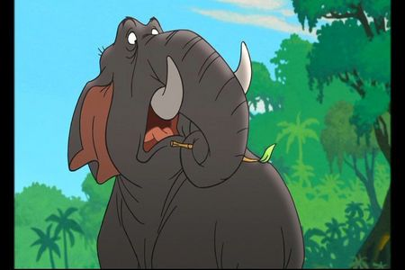 Who does the voice of Colonel Hathi?