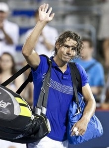 Rafa lost from who in Montreal 2009?