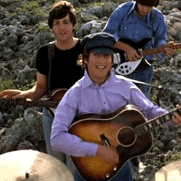 What is the only Beatles album that contains only Lennon/McCartney songs?