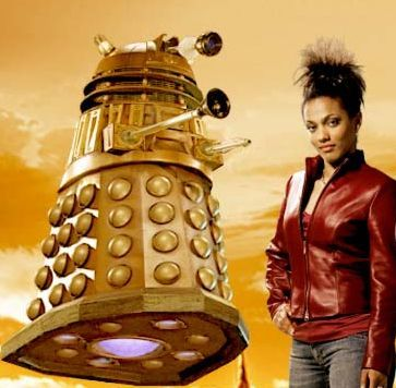 In which epsiode did Martha first encounter the Daleks?