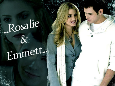 T ou F: Emmett and Rosalie are husband and wife.