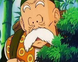 How did Grandpa Gohan die?