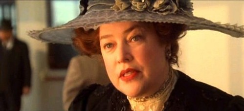 Molly Brown came aboard at Cherbourg.