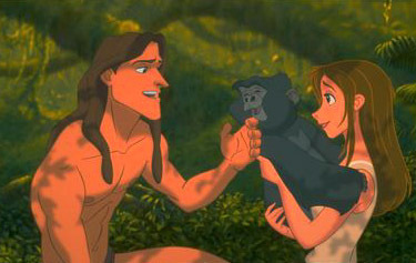 Tarzan saved Jane from the ? (The first meet)