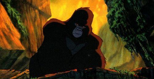 Tarzan who is the leader of the gorillas the disney trivia quiz fanpop - Tarzan gorille ...