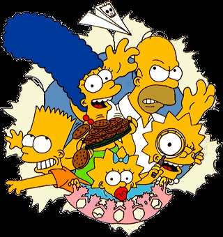 In which year did The Simpsons premiere?