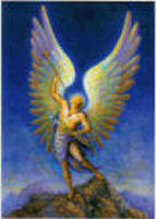 "This is the Archangel Gabriel,What does the name ""Gabriel"" mean ?"