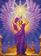 "This is the Archangel Uriel,What does the name ""Uriel"" mean ?"
