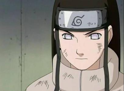 What is the color of Neji's eye's?