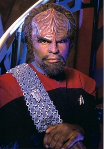 Who played Worf?