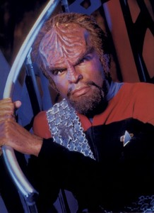 What was the name of Worf's biological father?