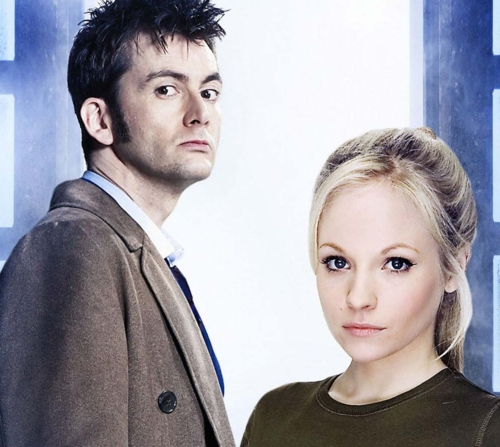 The Doctor's Daughter. Oh yes she is. who's her daddy in real life and what doctor did he play?