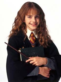 Is Hermione older than Harry and Ron ?