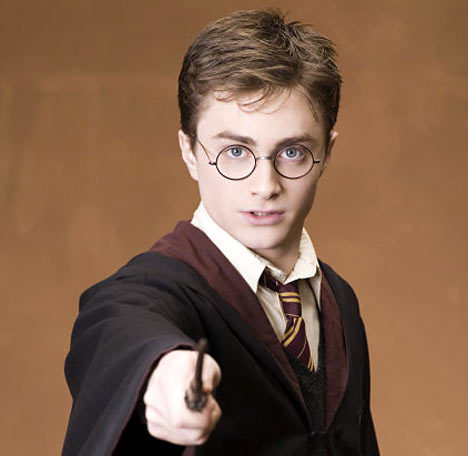 Harry Potter's eyes are blue in the movies. What colour are they in the books?