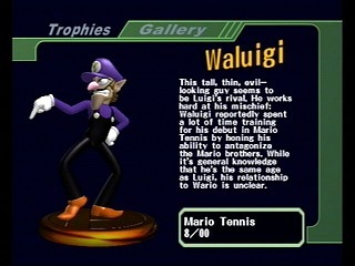 Which of these Waluigi Citazioni come from Mario Strikers Charged Football?