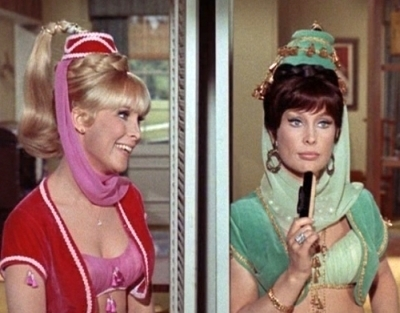 what is called the episode where the director makes a joke to barbara eden
