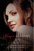 whos is on the cover of vampire academy?