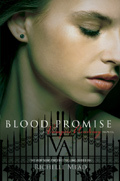 who is on the cover of blood promise?